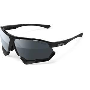 Scicon Aerocomfort XL Road Sunglasses - Black Gloss/SCNPP Multimirror Silver
