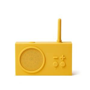 Lexon TYKHO 3 FM Radio and Bluetooth Speaker - Yellow