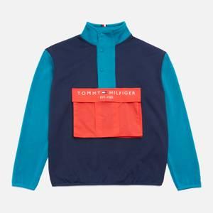 Tommy Hilfiger Boys' Colour Blocked Pocket Popover - Twilight Navy