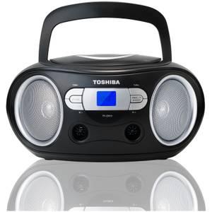 Toshiba Portable CD Boombox - Black
