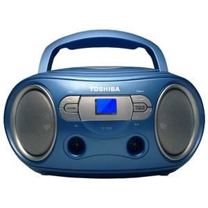 Toshiba Portable CD Boombox - Blue