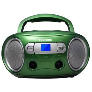 Toshiba Portable CD Boombox - Green