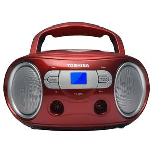 Toshiba Portable CD Boombox - Red