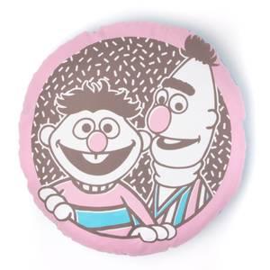 Sesame Street Bert And Ernie Round Cushion