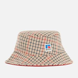BOSS X Russell Athletic Men's Finlan Bucket Hat - Medium Beige