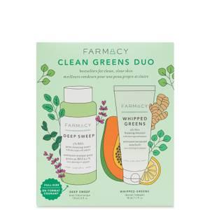 FARMACY Clean Greens Duo (Worth £36.00)