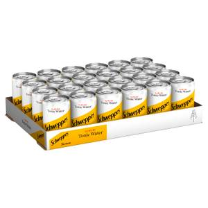Schweppes Slimline Tonic Water 24 x 150ml