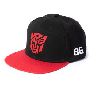 Transformers Autobots Snapback Cap - Black/Red