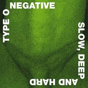Type O Negative - Slow, Deep and Hard 2xLP (Green & Black Mixed)