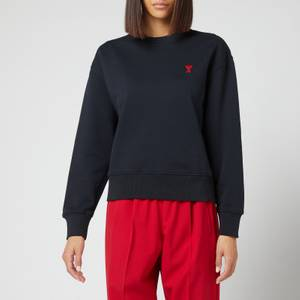 AMI Women's De Coeur Sweatshirt - Black