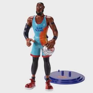 Noble Collection Space Jam: A New Legacy Lebron James BendyFig 7.5 Inch Action Figure