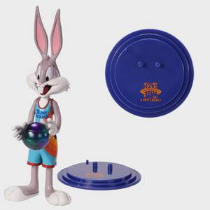 Noble Collection Space Jam: A New Legacy Bugs Bunny BendyFig 7.5 Inch Action Figure