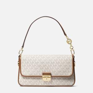 MICHAEL Michael Kors Women's Bradshaw Shoulder Bag - Vanilla/Acorn