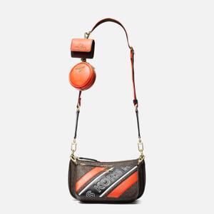 MICHAEL Michael Kors Women's Jet Set Charm Pouch Xbody Bag - Brown Multi