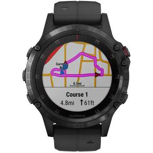 Garmin Fenix 5 Plus GPS Watch - Black