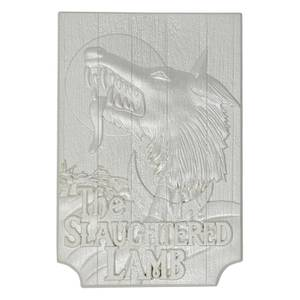 Fanattik American Werewolf in London Limited Edition Silver Plated Replica