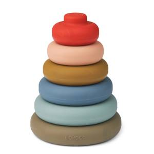 Liewood Dag Stacking Tower - Multi Mix - One Size