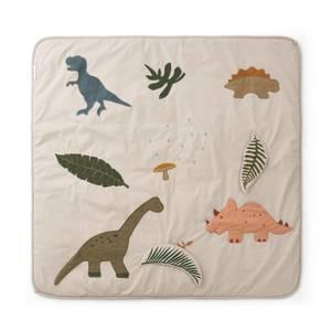 Liewood Glenn Activity Blanket - Dino Dark Sandy Mix - One Size