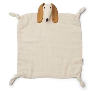 Liewood Agnete Cuddle Cloth - Dog Sandy - One Size
