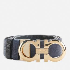 Salvatore Ferragamo Women's Gancini Reversible Belt 35mm