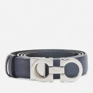 Salvatore Ferragamo Women's Gancini Reversible Belt 25mm - Vertigo Mauve