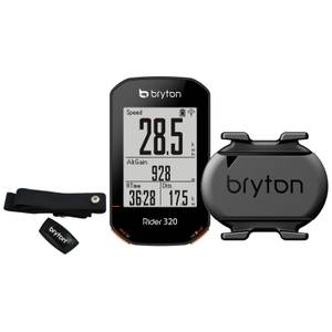 Bryton Rider 320T GPS Cycle Computer Bundle With Cadence & Heart Rate
