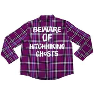 Cakeworthy Haunted Mansion Hitchhiking Ghosts Flannel