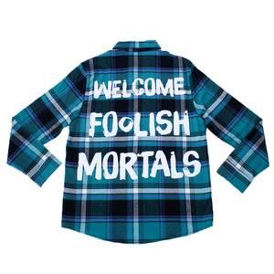 Cakeworthy Haunted Mansion Foolish Mortals Flannel