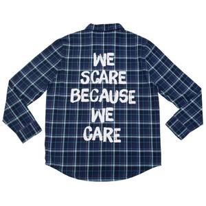 Cakeworthy Monsters Inc We Scare Flannel
