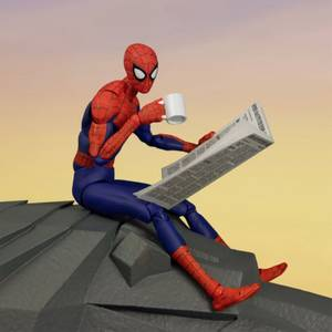 Spider-Man: Enter The Spider-Verse SV-ACTION Figure - Peter B. Parker (Special Version)