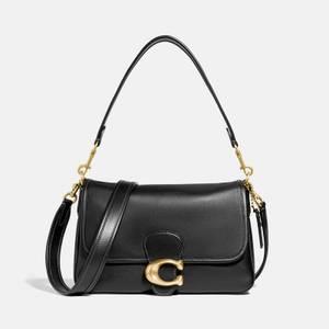 Coach Women's Soft Calf Leather Tabby Shoulder Bag - B4/Black