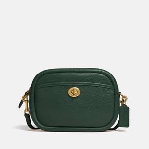 Coach Women's Soft Pebble Leather Camera Bag - Watermelon