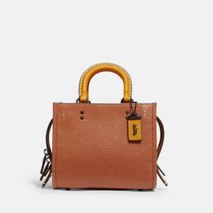Coach Women's Colorblock Leather Rogue Bag 17 - Canyon Multi