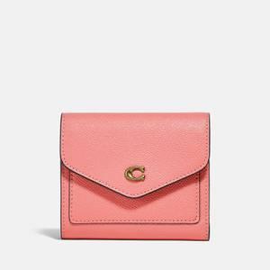 Coach Women's Crossgrain Leather Wyn Small Wallet - Candy Pink