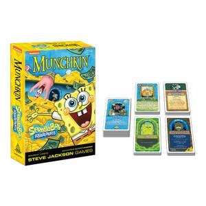 MUNCHKIN: SpongeBob SquarePants Card Game