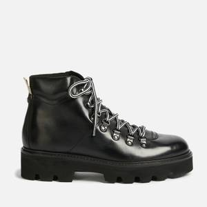 Ted Baker Women's Ammella Leather Hiking Style Boots - Black