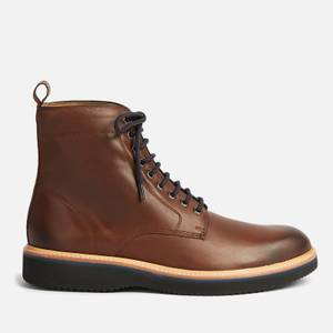 Ted Baker Men's Linton Leather Lace Up Boots - Brown