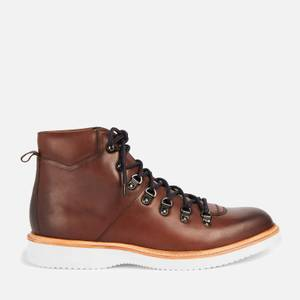 Ted Baker Men's Liykerr Leather Hiking Style Boots - Brown