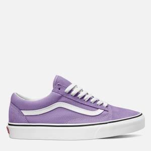 Vans Women's Old Skool Trainers - Chalk Violet/True White