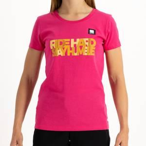 Sportful Women's Bora Hansgrohe Ride Hard Stay Humble T-Shirt