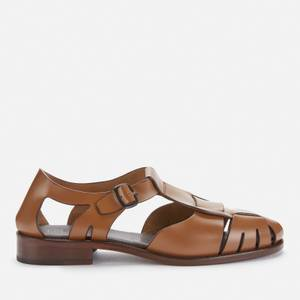 Hereu Women's Pesca Leather Flats - Toffee