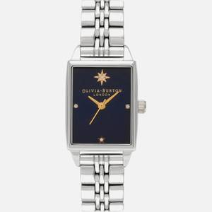 Olivia Burton Women's Celestial Watch - Blue & Silver