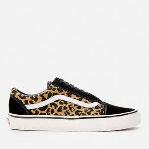 Vans Anaheim Old Skool 36 DX Trainers - Black/Tan Leopard