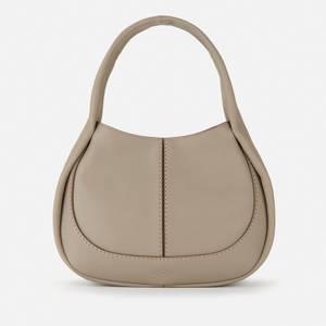 Tod's Women's Shirt Shoulder Bag - Grey