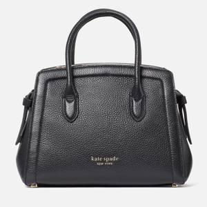 Kate Spade New York Women's Knott Leather – Mini Satchel - Black