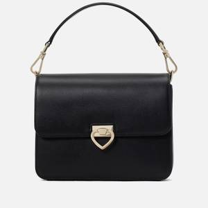 Kate Spade New York Women's Lovitt Textured Leather – Shoulder Bag - Black