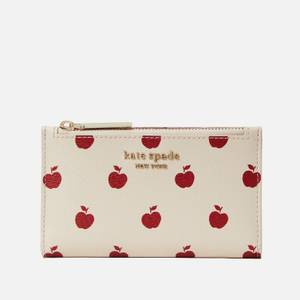 Kate Spade New York Women's Apple Small Slim Bifold Wallet - Multi