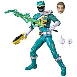 Hasbro Power Rangers Lightning Collection Dino Charge Green Ranger Action Figure