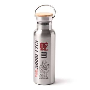 G.I. Joe Profile Portable Insulated Water Bottle - Steel
