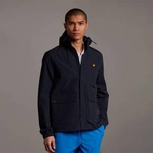 Hooded Pocket Jacket - Dark Navy - Plus